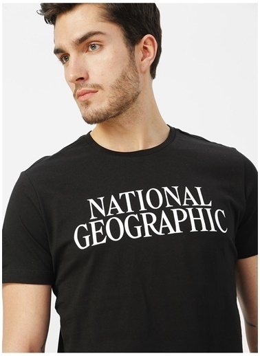 National Geographic National Geographic Siyah T-Shirt Siyah